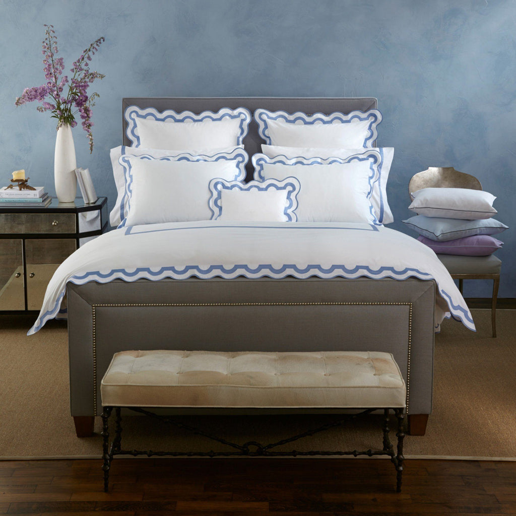 Matouk Bedding - Mirasol Duvets, Sheets & Shams - Fig Linens