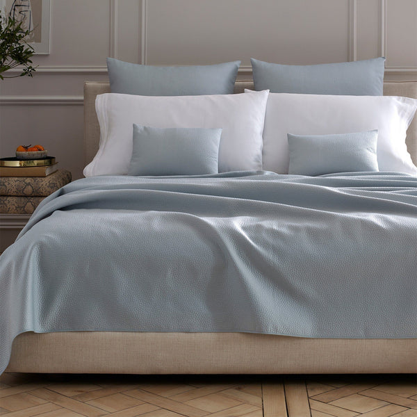 Eden Matelassé Bedding by Matouk | Coverelets & Shams at Fig Linens
