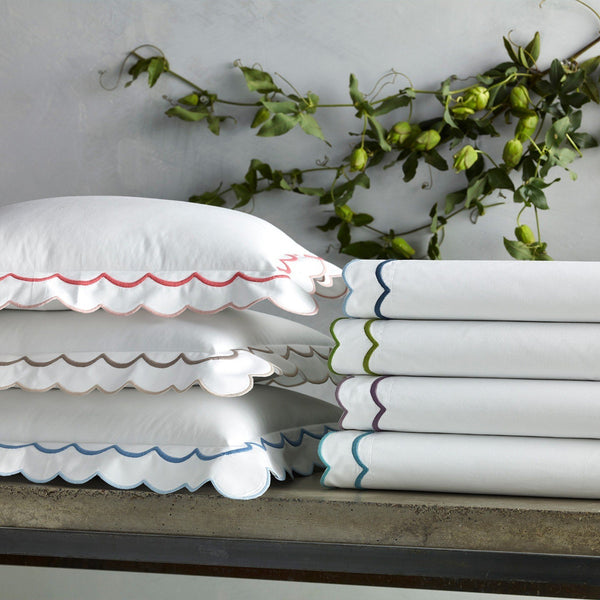India Sheets, shams, duvets by Matouk | Fig Linens and Home