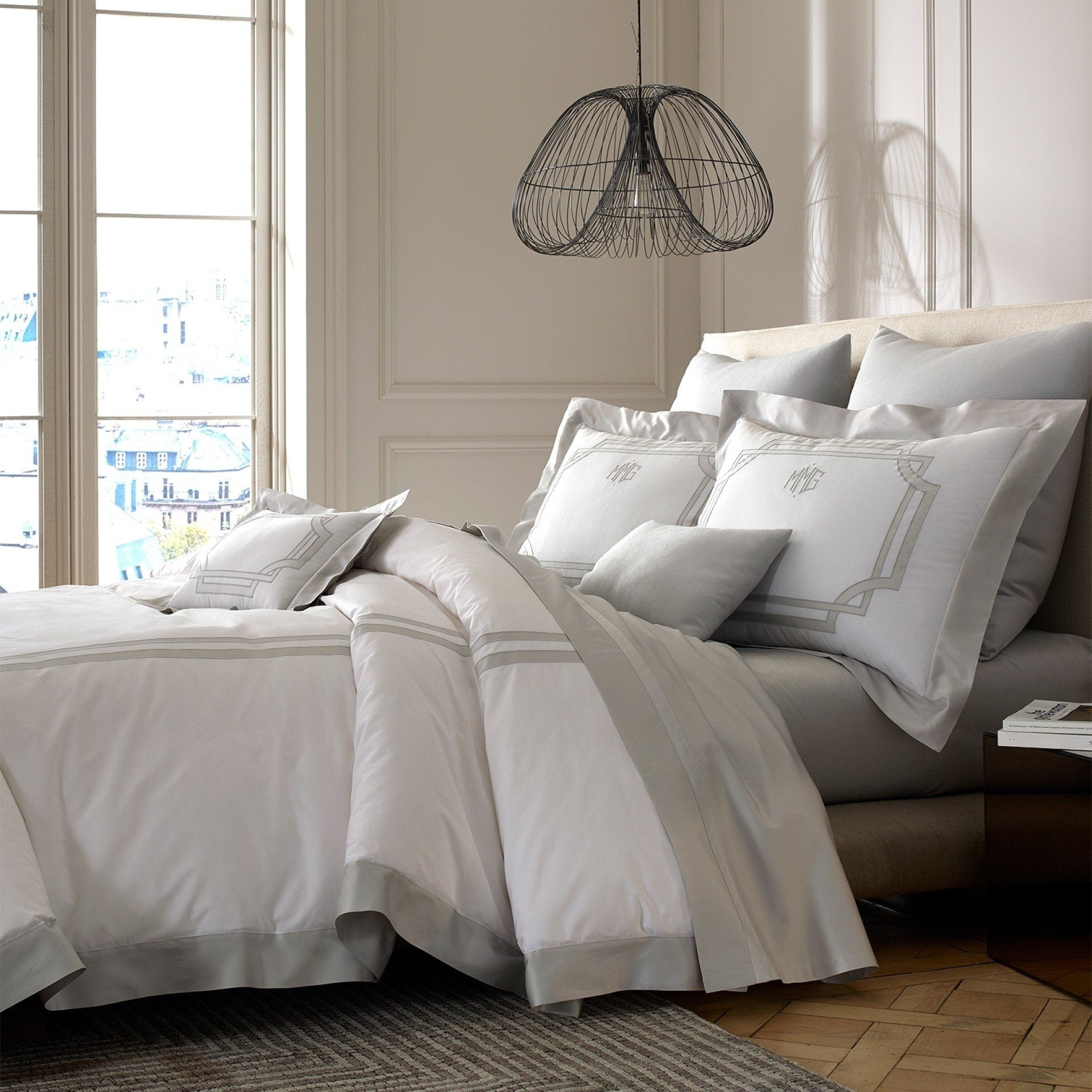 Matouk Bedding | Salon Duvets & Shams at Fig Linens