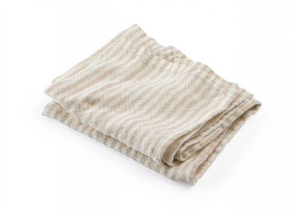 McClary Pearl & Natural Linen Bath Towels by Brahms Mount | Fig Linens