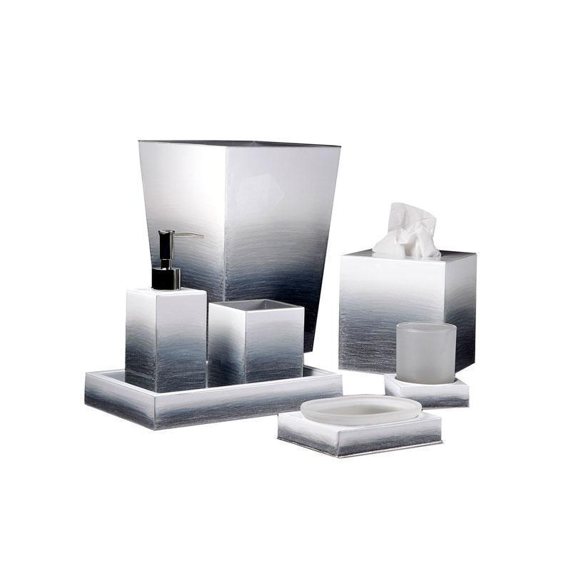 Gray/Silver Ombre Bath Accessories by Mike + Ally