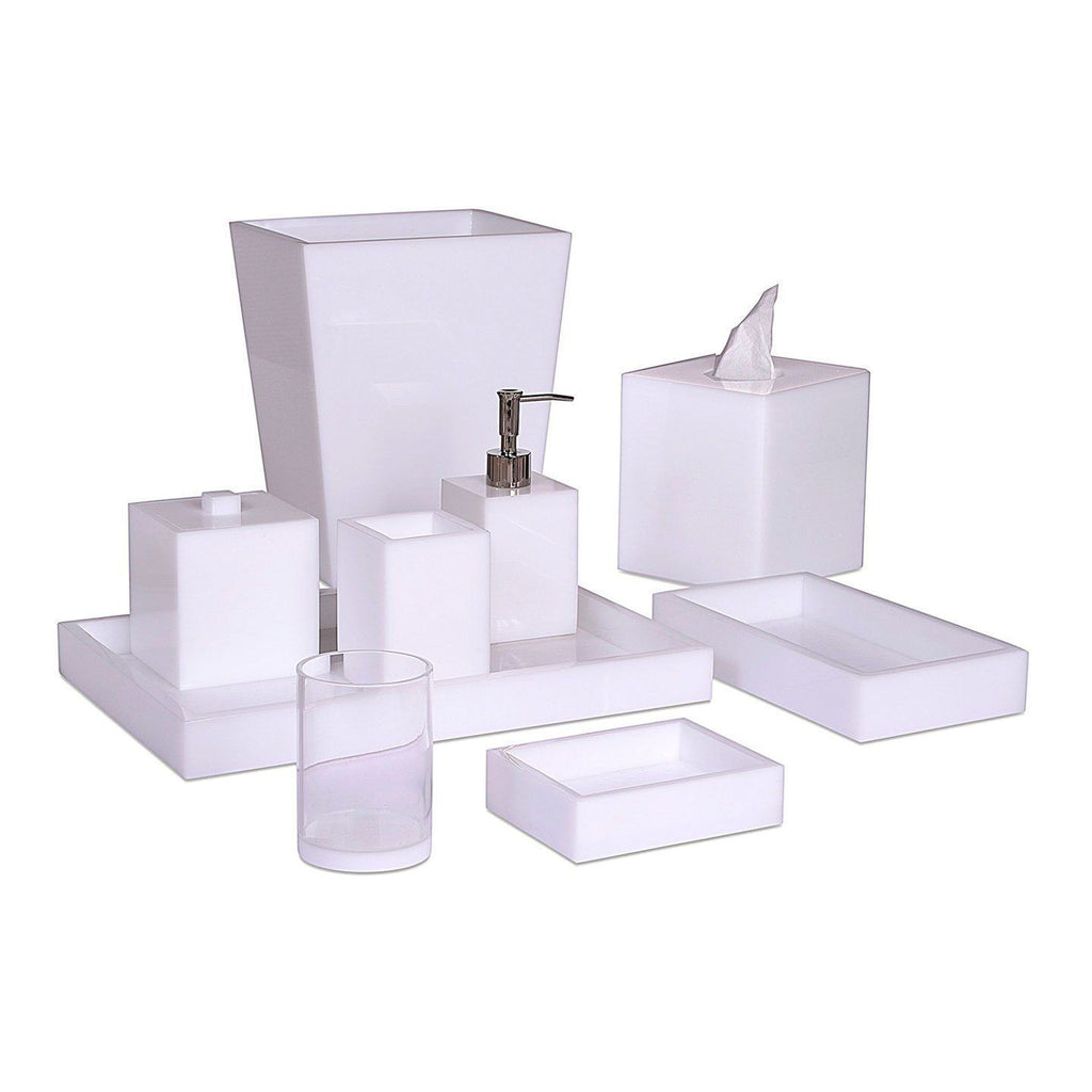 Fig Linens - White Ice Collection by Mike + Ally - Shop Bath Accessories