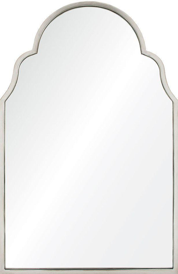 Mirror Image Home - Antiqued Silver Leaf Iron Arch Luxury Wall Mirror | Fig Linens