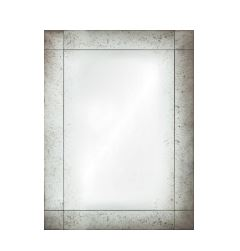 Mirror Image Home - Antiqued Frameless Panel Mirror | Fig Linens