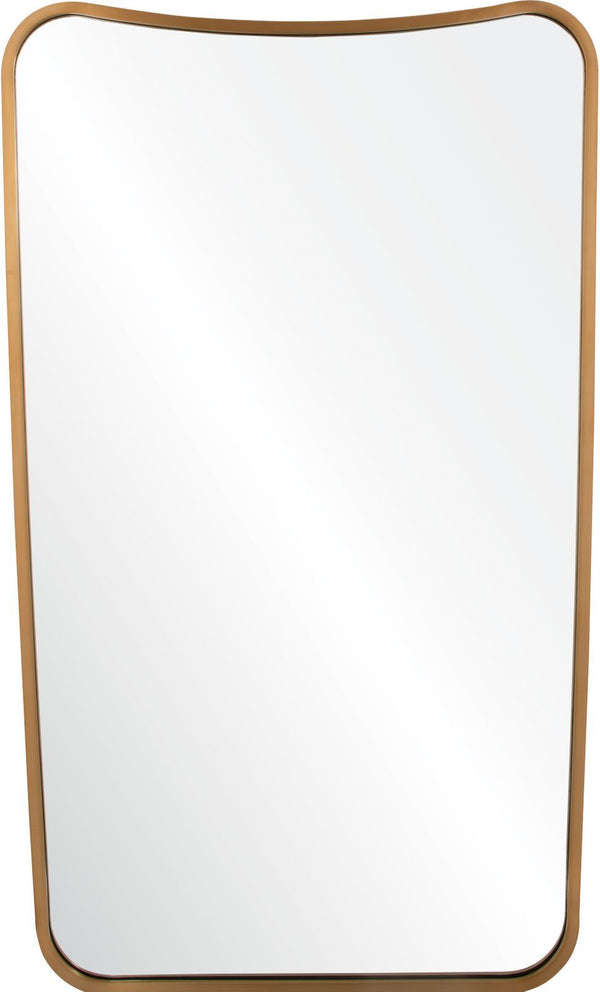 Decorative Wall Mirrors - Antiqued Light Bronze Wall Mirror | Fig Linens