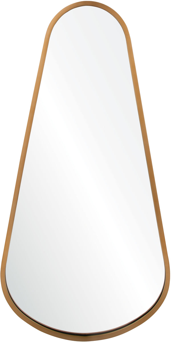 Teardrop mirror by mirror image home - Antiqued Light Bronze Wall Mirror | Fig Linens