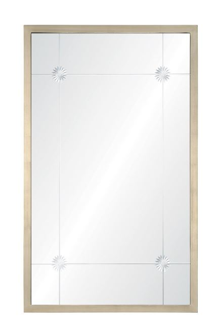 CK1141 - Alexandra Aged Silver Wall Mirror by Celerie Kemble | Fig Linens