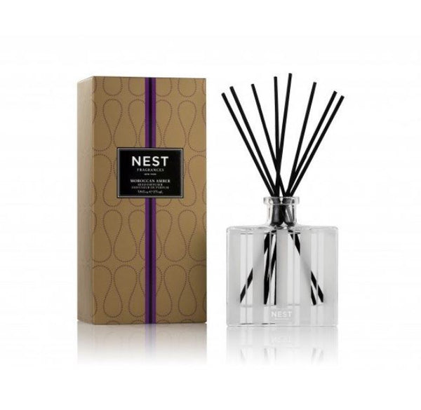 Moroccan Amber Reed Diffuser by Nest | Fig Linens