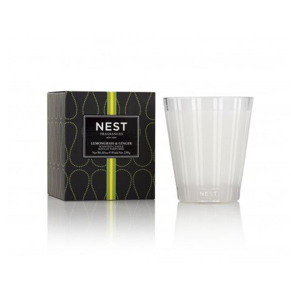 Fig Linens - Nest Fragrances - Lemongrass and Ginger Classic Candle