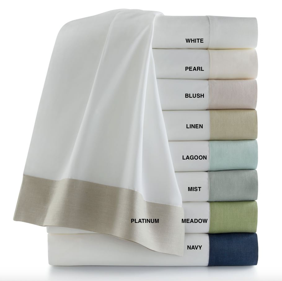 Mandalay Cuff Duvets & Shams by Peacock Alley | Fig Linens