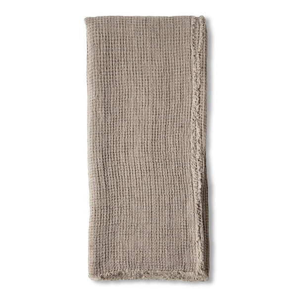 Pom Pom at Home - Venice Taupe Oversized Throw | Fig Linens