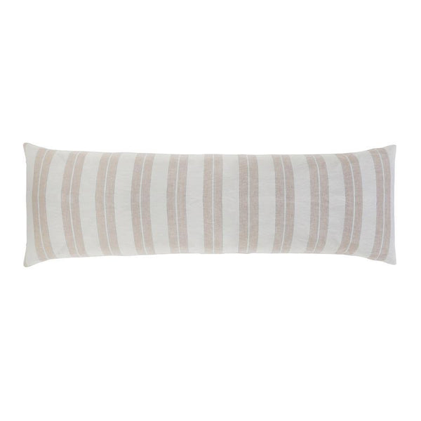 Carter Ivory and Amber Body Pillow by Pom Pom at Home | Fig Linens and Home
