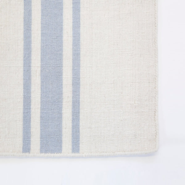Pom Pom at Home - Beachwood Ivory & Nordic Blue Runner Rug | Fig Linens