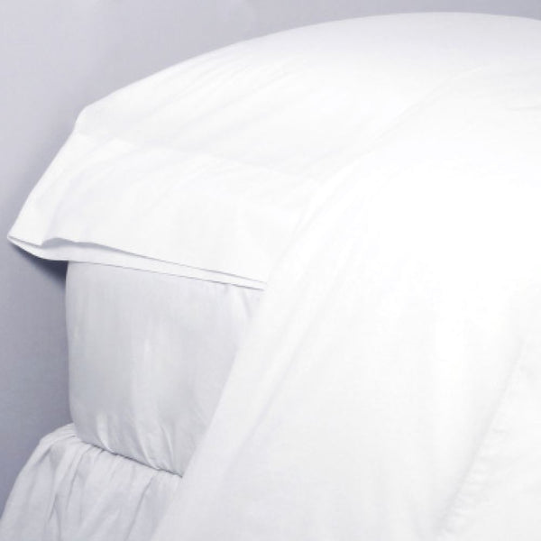 Fig Linens - Pom Pom at Home Bedding - White cotton percale sheets and pillowcases