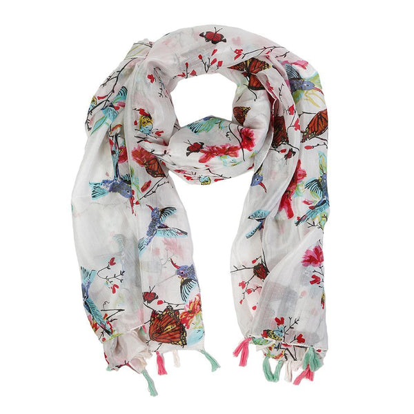 Rochelle Silk Scarf by Pom Pom at Home | Fig Linens