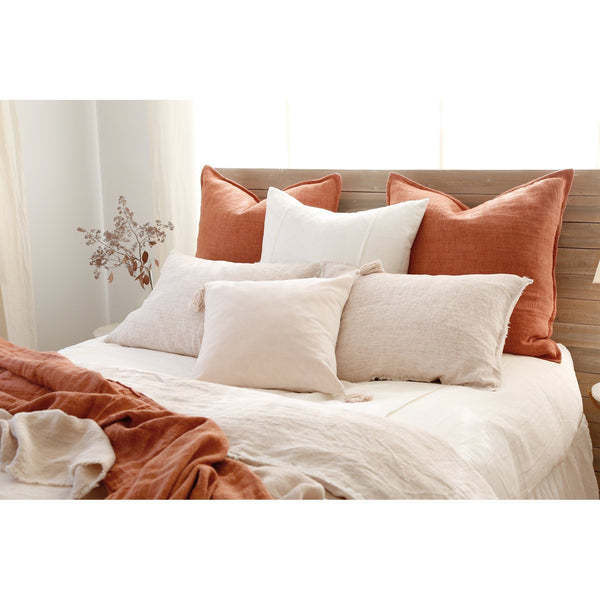 Fig Linens - Pom Pom at Home - Montauk Large Decorative Pillows