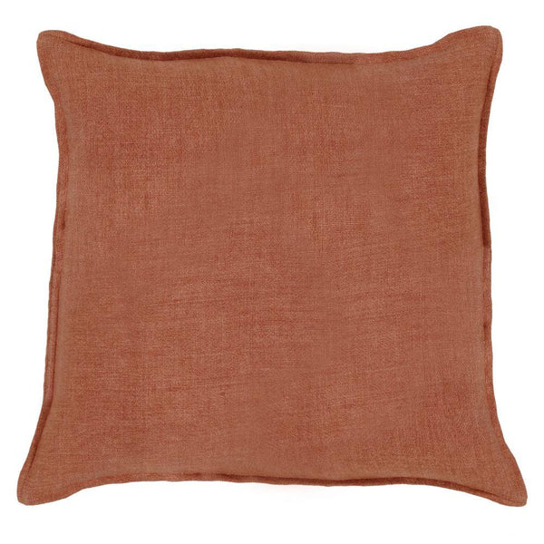 Pom Pom at Home - Montauk Terra Cotta Large Euro Pillow - Fig Linens