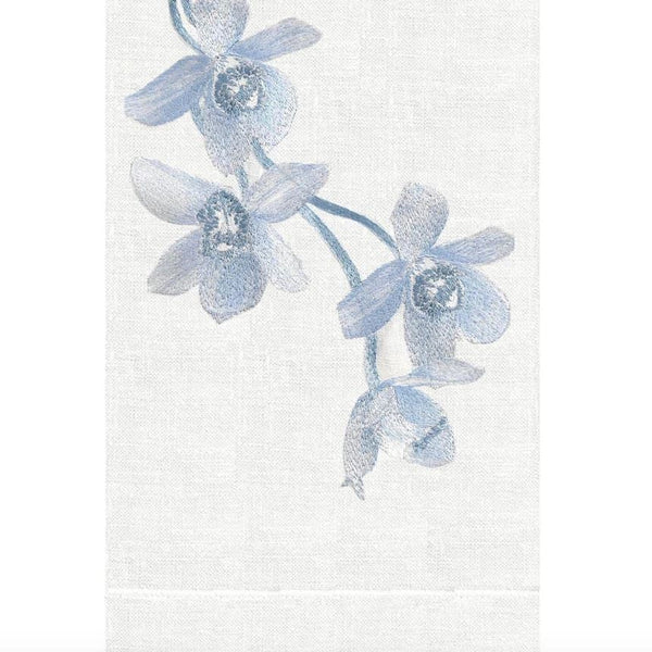 Quartz Sunset Orchid Linen Guest Towel | Fig Linens