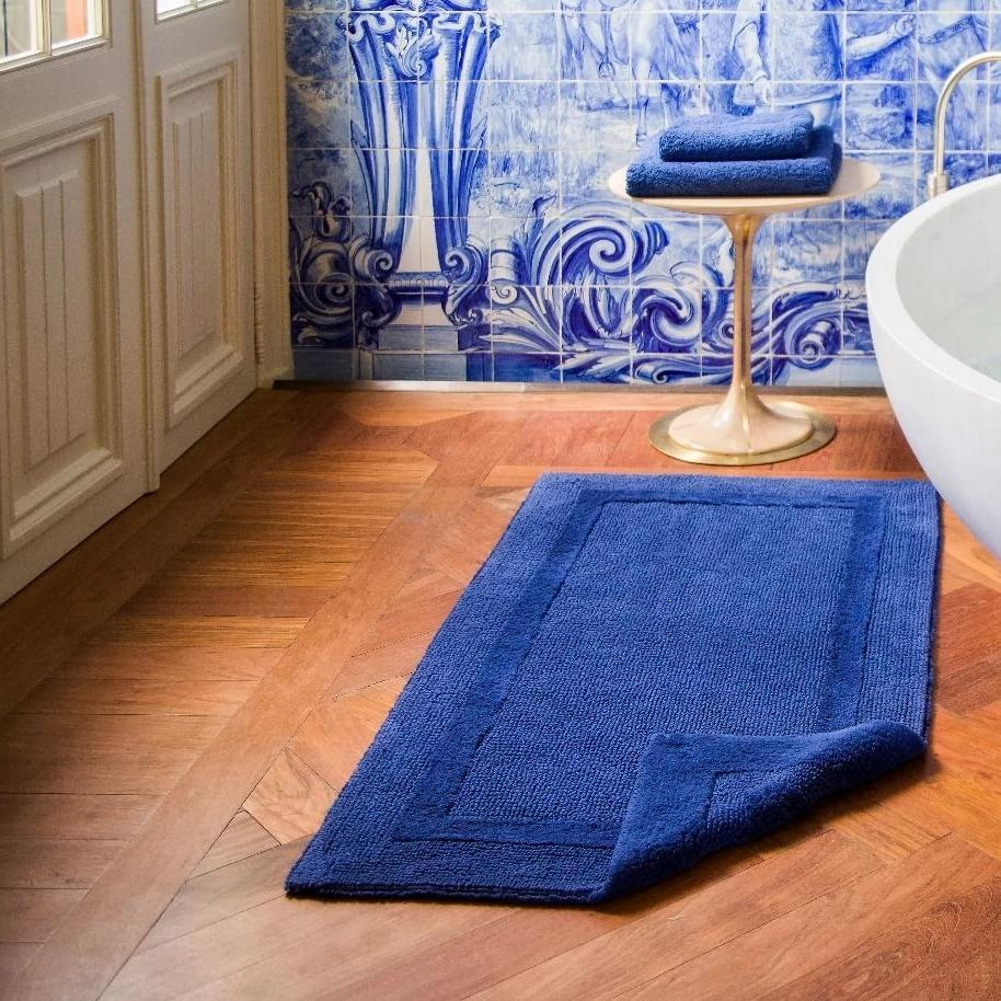 Reversible Bath Rugs by Abyss & Habidecor | Fig Linens and Home