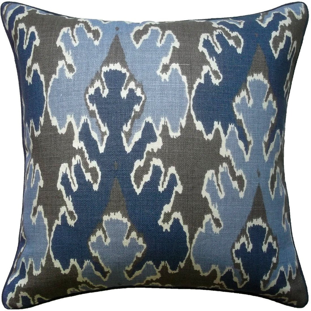 Bengal Bazaar Indigo Pillow - Shop Ryan Studio at Fig Linens
