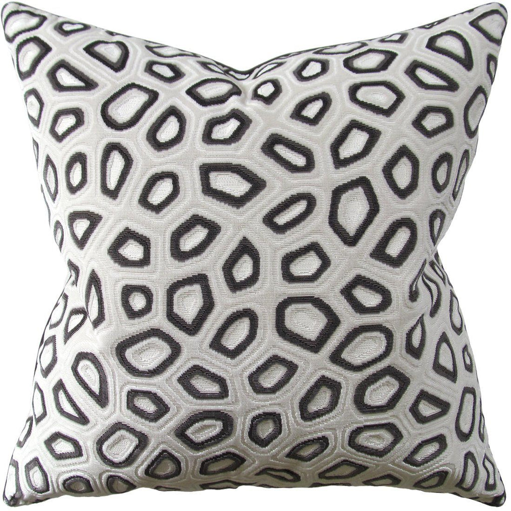 Chic Tortoise Steel Pillow by Ryan Studio | Fig Linens and Home
