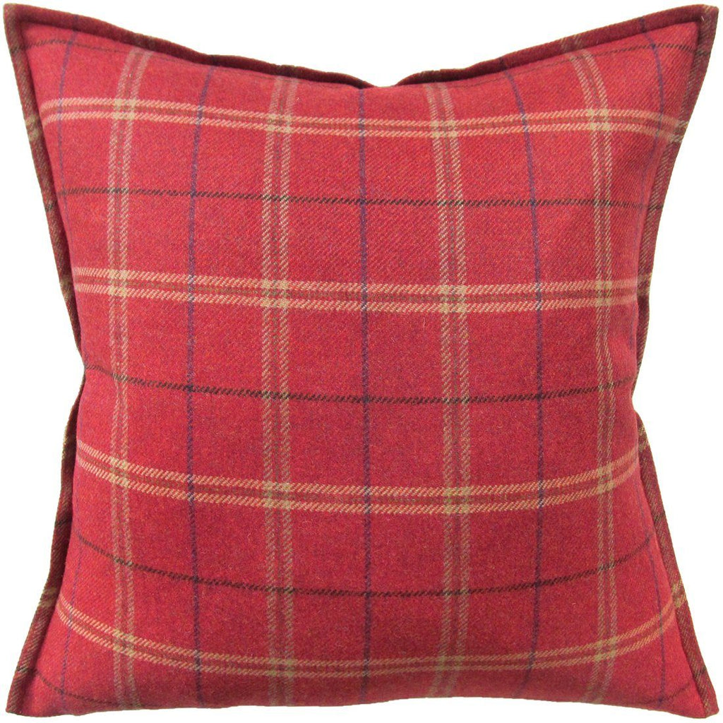Ryan Studio Crosby Red Pillow | Fig Linens and Home