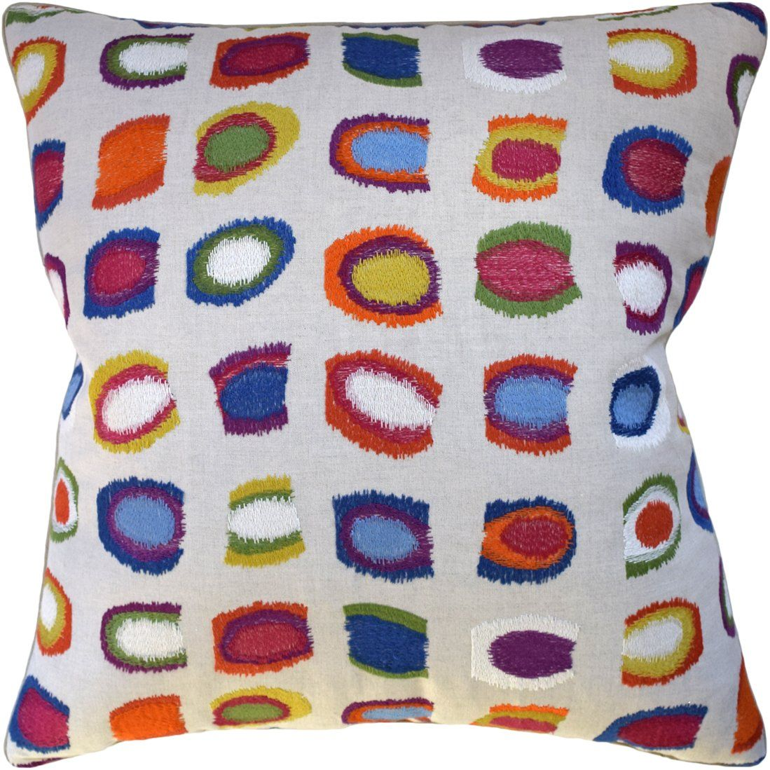 Jamboree Tropical Pillow - Fig Linens