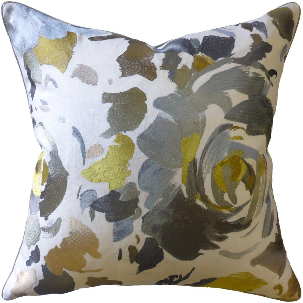 Kalos Grey Pillow by Ryan Studio | Fig Linens and Home