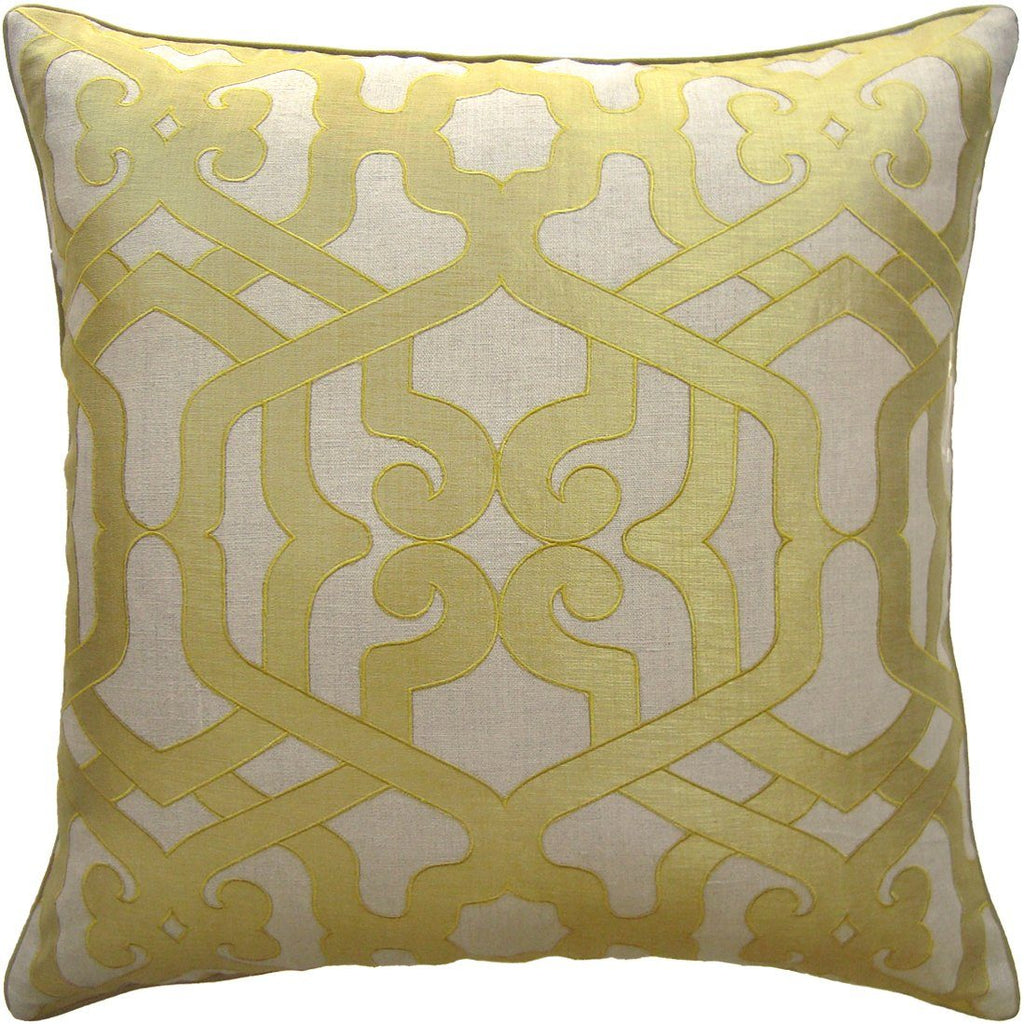 Modern Elegance Saffron Pillow by Ryan Studio | Fig Linens and Home