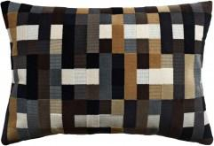 Abstract Moment Onyx Pillow - Shop Ryan Studio | Fig Linens