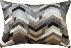 Catwalk Graphite Pillow by Ryan Studio | Fig Linens and Home