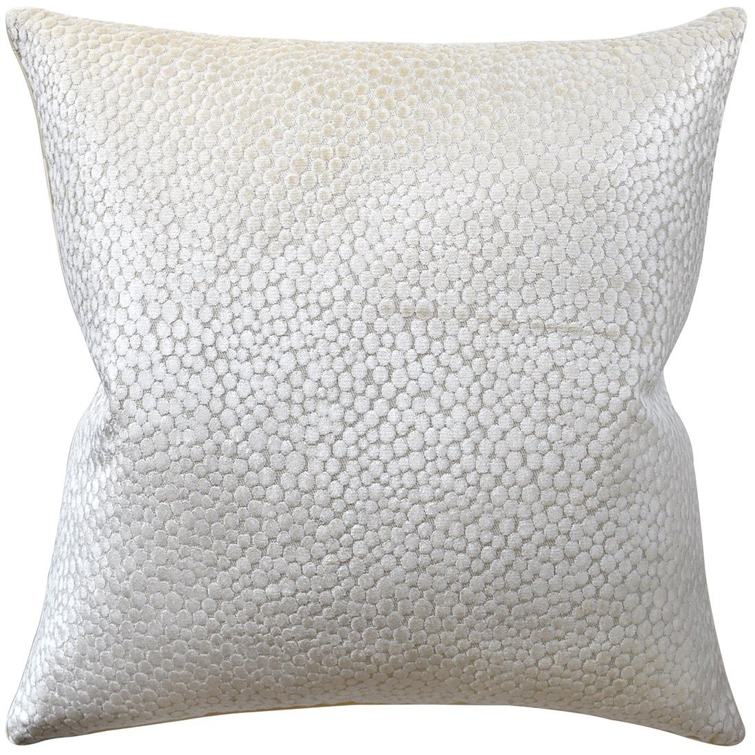 Polka Dot Plush Natural Pillow | Ryan Studio Pillows at Fig Linens