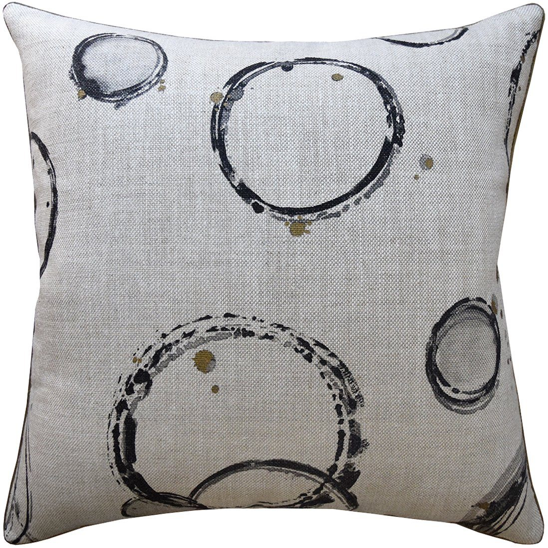 Fig Linens - Ryan Studio Pillow - Retouche Coal Pillow