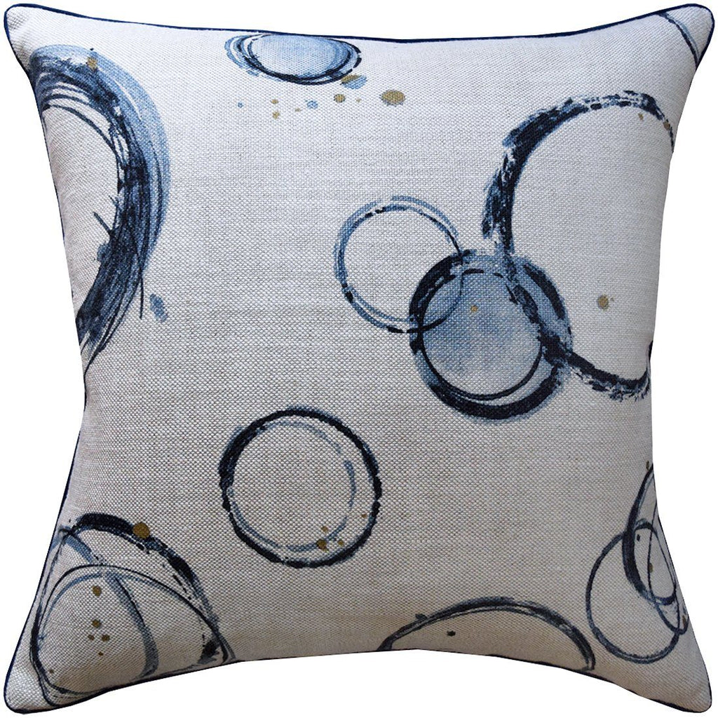 Retouche Teal Pillow by Ryan Studio | Fig Linens and Home