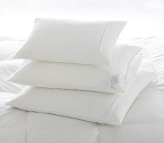 Percale Pillow Protectors by Scandia Home | Fig Linens