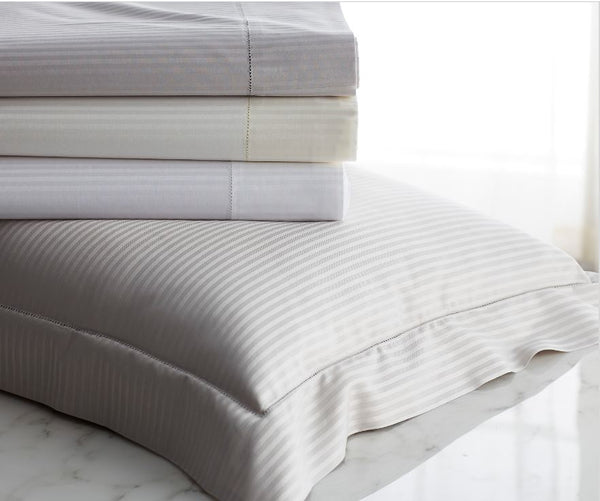 Savoia Bedding Collection - Duvet, Sheets, Shams, Pillowcases -  by Scandia Home | Fig Linens