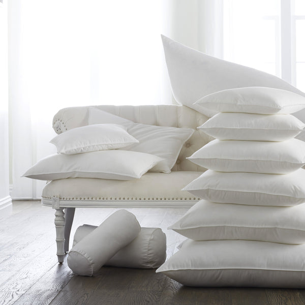 Feather Blend Pillow Inserts by Scandia Home | Fig Linens