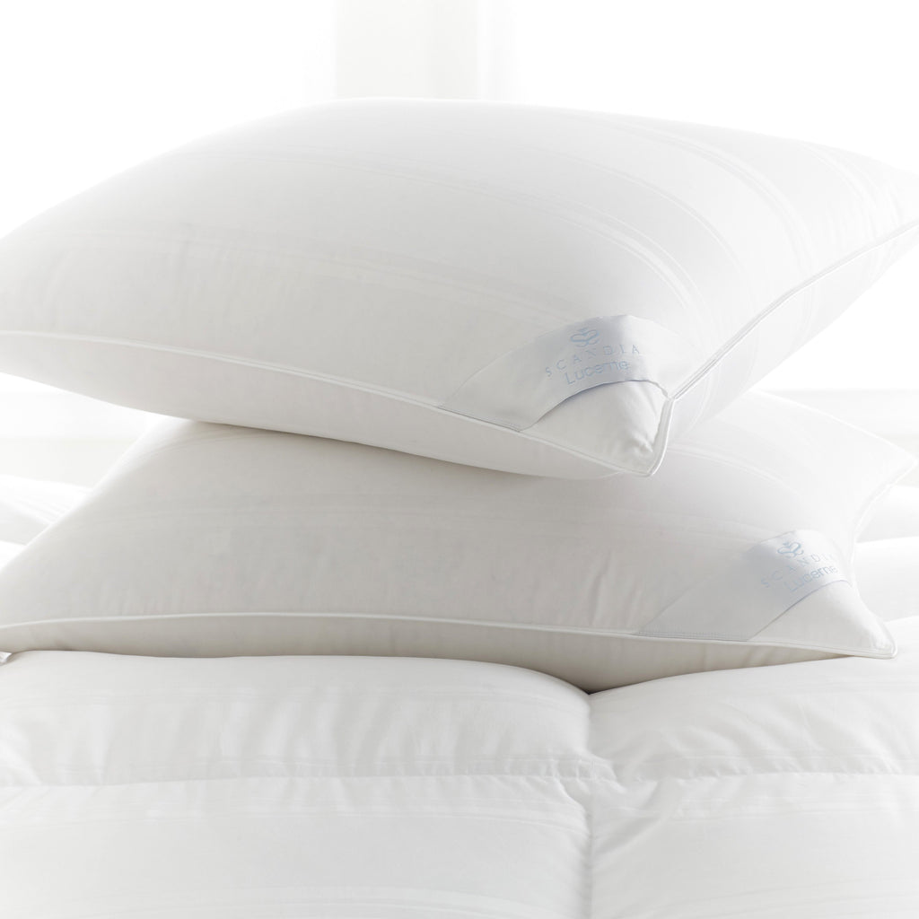 Lucerne Down Pillow and Comforter by Scandia Home | Fig Linens