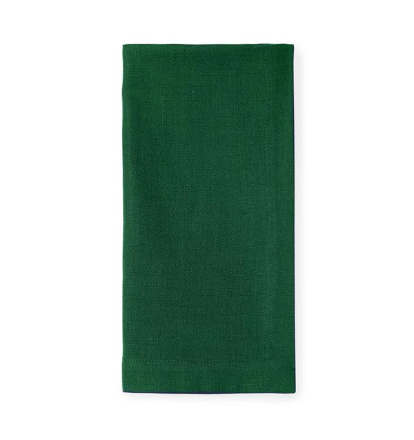 Cartlin Emerald Dinner Napkins by Sferra | Fig Linens and Home