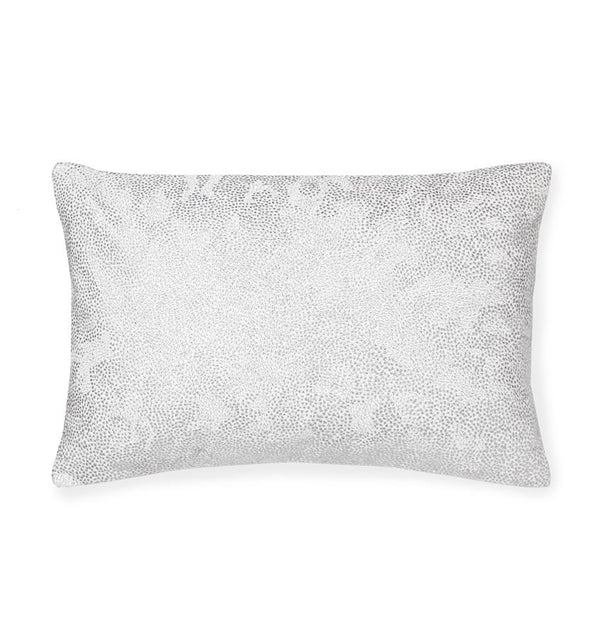 Dovia Titanium Decorative Pillow by Sferra | Fig Linens and Home