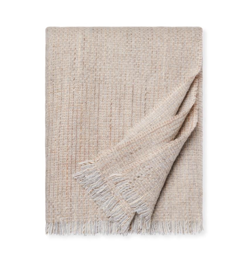 Gigia Fog Throw Blanket by Sferra | Fig Linens and Home