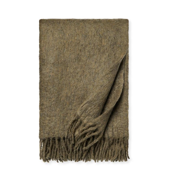 Motto Loden Throw Blanket by Sferra | Fig Linens and Home