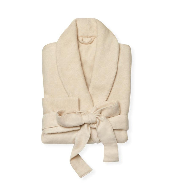 Sardinia Ivory Cashmere Robe by Sferra | Fig Linens and Home