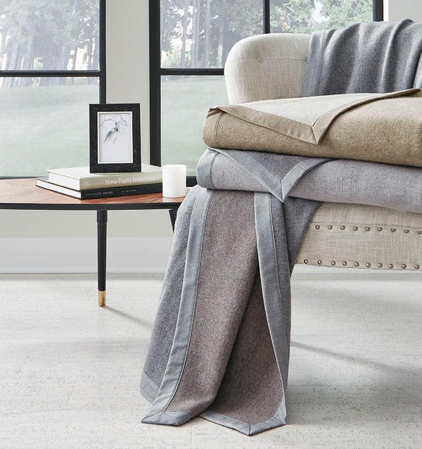 Nerino Wool Blanket by Sferra | Fig Linens and Home