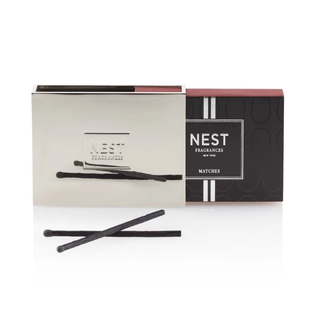 Nest Fragrances - Silver Matchbox Holder with Matches | Fig Linens and Home