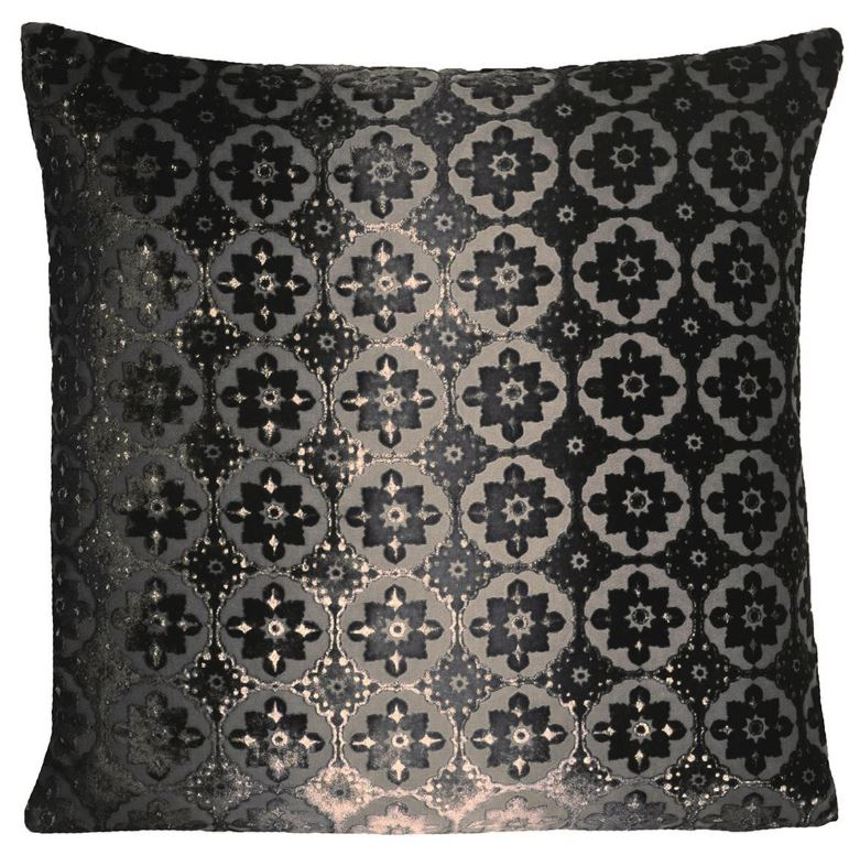 Small Moroccan Smoke Velvet Pillows by Kevin O'Brien Studio | Fig Linens