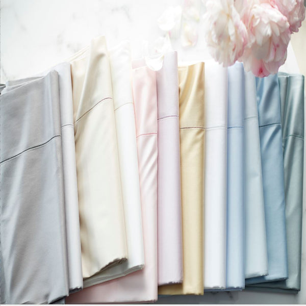 Stresa Shams by Scandia Home | Fig Linens