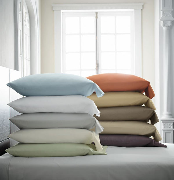 Stresa Pillowcases by Scandia Home | Fig Linens