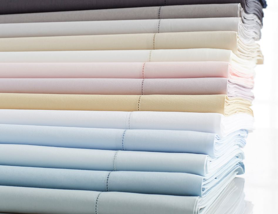 Stresa Flat Sheets by Scandia Home | Fig Linens and Home